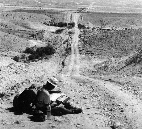 איש הולך את ארץ ישראל
